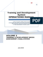 Volume 2_TDNA System Operations Manual July V2010