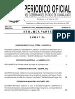 Reglamento de Transito 2007