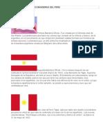 Historia de Las Banderas Del Perú