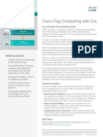 Cisco Fog Computing With Iox