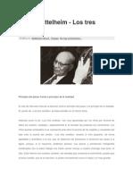 Bruno Bettelheim - Los Tres Cerditos