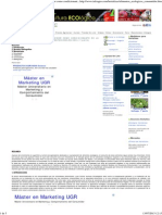 Agroalimentación. El Estilo de Vida Del Consumidor Como Condicionante de La Actitud de Compra Hacia Los Alimentos Ecológicos. 1ª Parte.