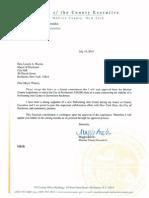 Brooks Letter to Warren Re