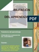 02º Rehabilitacion Del Aprendizaje