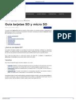 Guía Tarjetas SD y Micro SD - Copia