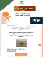 Periodo Colonial en América y Chile_clase_8