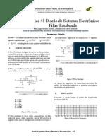 Informe #1 Diseño_Filtro