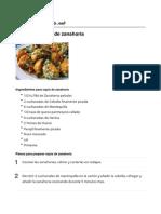 Ñoquis de Zanahoria - Recetasgratis.net