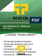 CHARLA VALORANDO EL TRABAJO.ppt