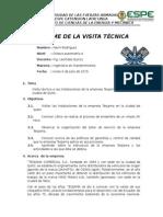 Informe Visita Tecnica