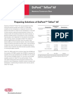 DuPont Teflon AF Processing Guide