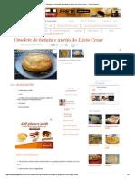Receita de Omelete de Batata e Queijo Do Lúcio Cezar - Tudo Gostoso