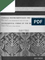 Formas Instrumentales Del Renacimiento _ VIDELA