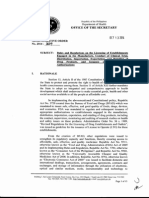 Administrative Order No. 2014-0034 - Rules and Regulations on the Licensing of Establishments