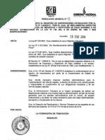 RG 13.2014 Registro de Exportadores