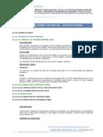 Especificaciones Tecnicas Estructuras Demoliciones