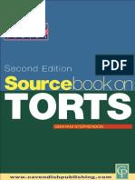 Sourcebook on Tort