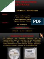 Medidores electronicos y electromecanicos