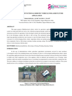5. Management-survey on Multifunctional Robotic Vehicle for Agriculture Application-charansingh Patil