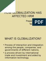Globalisation & HR
