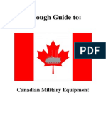 Rough Guide to Canadian Military Equipment - V1