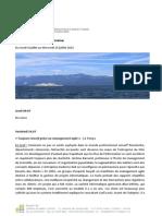 Revue de Presse Du 9.07.15 Au 15.07.15