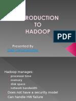 Hadoop Training Institute in Bangalore