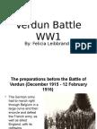 Verdun Battle WW1
