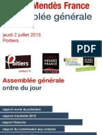 Rapport d'activites Emf 2014