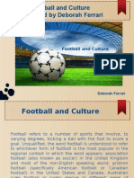 Deborah Ferrari - Football and Its Culture