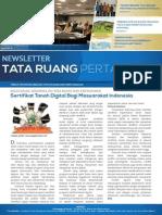 Newsletter Tata Ruang dan Pertanahan Edisi Juni 2015