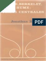 Bennett, Jonathan - Locke, Berkeley, Hume. Temas Centrales UNAM