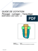 Guide de Cotation - Perçage - Lamage - Taraudage