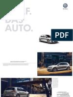 New Golf MK7 (2015) Brochure