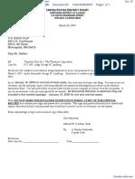 Timebase Pty Ltd. v.  The Thomson Corporation - Document No. 23