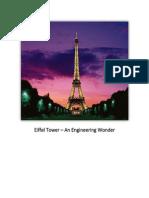 Eiffel Tower – an Engineering Wonder