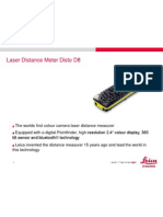 Laser Distance Meter Disto D8
