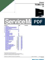 LCD TV Philips 32hfl3331-93 Tcm3.1ala