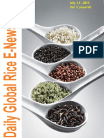 14th July (Tuesday),2015 Daily Global Rice E-Newsletter by Riceplus Magazine