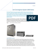 Cisco Convergence 2000series Deployment Guide
