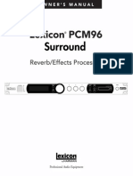 PCM96S Manual 5047786-A Original
