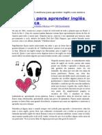 5 Motivos Para Aprender Inglês Com Música