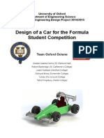 Oxford Octane Formula Student Report