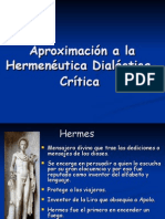 Hermenéutica Dialéctica-Crítica PNFF2009