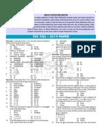 Ssc Cgl Paper f
