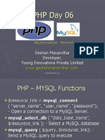 06 PHP MYSQL Connect Query