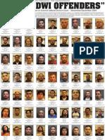 Guilty DWI Offenders - Nov.-Dec. 2009