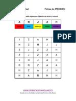 Identifica Letras y Seguir