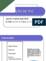 Formatação de Tcc