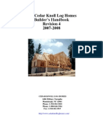 Log Home Building Manual